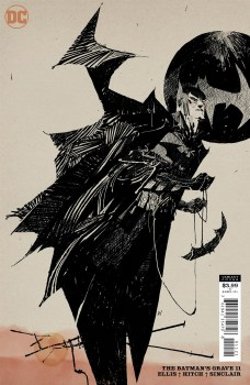 Batmans Grave #11 (of 12) Cover B Variant Ashley Wood Cover