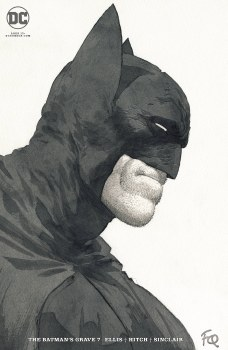 Batmans Grave #7 (of 12) Cover B Frank Quitely Cardstock Variant Cover