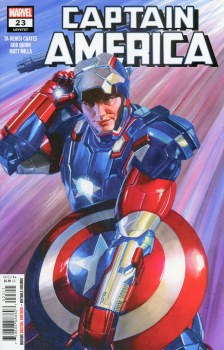 Captain America Vol 9 #23 Cover A Regular Alex Ross Cover