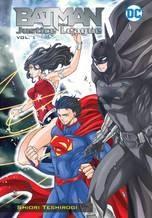 Batman & The Justice League Manga Tp Vol 01 nga Tp Vol 01