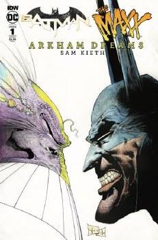 Batman The Maxx #1 (Of 5) Arkham Dreams Cvr A Kieth am Dreams Cvr A Kieth
