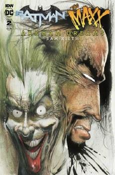 Batman The Maxx Arkham Dreams#2 (Of 5) Cvr B Kieth #2 (Of 5) Cvr B Kieth