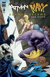 Batman The Maxx Arkham Dreams#3 (Of 5) Cvr A Kieth #3 (Of 5) Cvr A Kieth