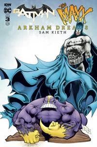 Batman The Maxx Arkham Dreams#3 (Of 5) Cvr B Kieth #3 (Of 5) Cvr B Kieth