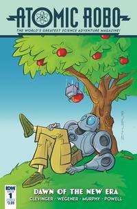 Atomic Robo & Dawn Of New Era#1 (Of 5) Cvr B Zahler #1 (Of 5) Cvr B Zahler