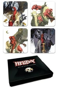 Hellboy Coaster Set (C: 0-1-2)
