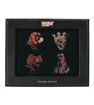 Hellboy Enamel Pin Set (C: 0-1-2) -2)