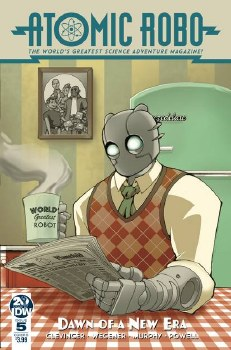 Atomic Robo & Dawn Of New Era#5 (Of 5) Cvr B Griffith #5 (Of 5) Cvr B Griffith