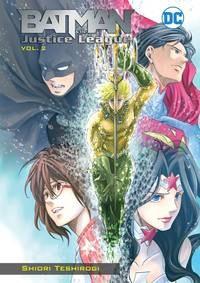 Batman & The Justice League Manga Tp Vol 02 nga Tp Vol 02