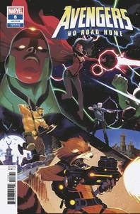 Avengers No Road Home #8 (Of 10) Scalera Connecting Var 0) Scalera Connecting Var