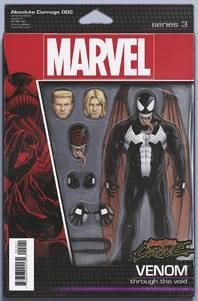 Absolute Carnage #2 (Of 4) Christopher Action Figure Var Ac istopher Action Figure Var Ac