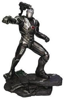 Marvel Movie Gallery Avengers Endgame War Machine PVC Figure