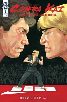Cobra Kai Karate Kid Saga Continues #1 (Of 4) Cvr A Mcleod inues #1 (Of 4) Cvr A Mcleod