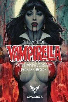 Vampirella 50th Anniversary Poster Collection