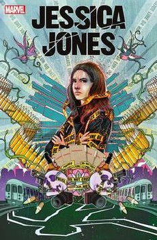 Jessica Jones Blind Spot #1 (of 6) Cover B Variant Martin Simmonds Cover