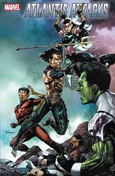 Atlantis Attacks #2 (of 5) Cover A Regular Mico Suayan Cover