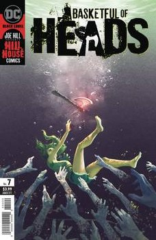Bastketful Of Heads #7 (of 7) Cover A Reiko Murakami Cover - Rated MR - Ages 17+