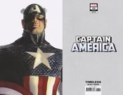 Captain America Vol 9 #23 Cover B Variant Alex Ross Timeless Captain America Cover