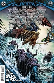 Justice League Vol 4 #55 Cover A Regular Liam Sharp Cover (Dark Nights Death Metal Tie-In)