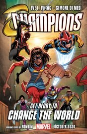 Champions Vol 4 #1 (of 5) Cover D Variant Ron Lim Cover (Outlawed Tie-In)