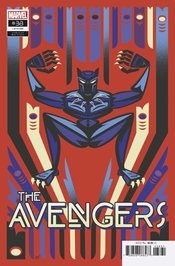 Avengers Vol 7 #38 Cover B Variant Jeffrey Veregge Native American Heritage Tribute Black Panther Cover