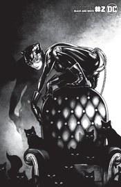 Batman Black & White Vol 3 #2 (of 6) Cover C Variant Kamome Shirahama Catwoman Cover