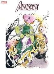 Avengers Vol 7 #44 Cover C Variant Peach Momoko Cover