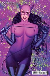 Catwoman Vol 5 #32 Cover B Variant Jenny Frison Card Stock Cover