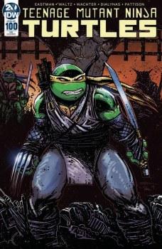 Teenage Mutant Ninja Turtles Vol 5 #100 Cover F DF Exclusive Kevin Eastman Variant Cover