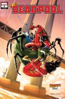Deadpool (2020) #5 Cover B Mirka Andolfo Spider-Woman Variant Cover