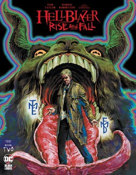 Hellblazer: Rise & Fall #2 Cover B JH Williams III Variant Cover