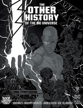 The Other History Of The DC Universe #1 Cover D LCSD Jamal Campbell Silver Metallic Ink Cover - LIMIT ONE PER CUSTOMER - ADDITIONAL QUANTITY ORDERS WILL BE CANCELLED