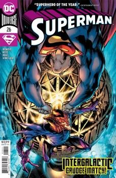 Superman Vol 6 #26 Cover B Variant Tony S Daniel Cover