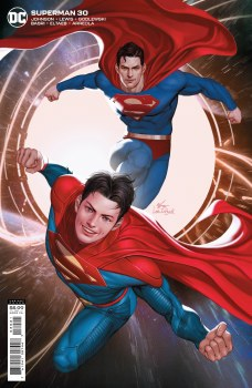 Superman Vol 6 #30 Cover B Variant Inhyuk Lee Card Stock Cover
