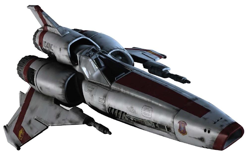 Battlestar Galactica Ship Collection #1 Viper Mk II