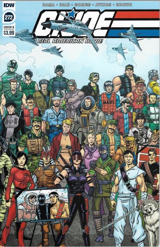 NM IDW COMICS GI STALKER G.I JOE A REAL AMERICAN HERO #266 CVR B SULLIVAN