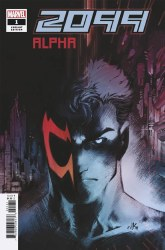 2099 Alpha One Shot Cover B Variant Viktor Bogdanovic Cover