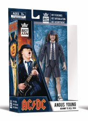 """BST AXN AC/DC Angus Young 5"""" Action Figure"""