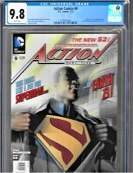 Action Comics Vol 2 #9 CGC 9.8