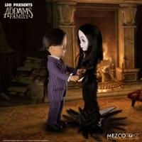 Living Dead Dolls The Addams Family Gomez & Morticia Doll Set