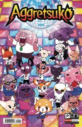 Aggretsuko #5 Cover B Philip Murphy Variant Cover