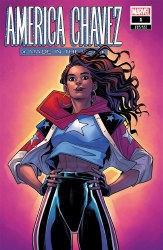 America Chavez Made In The USA #1 (of 5) Cover D 1:25 Ratio Incentive Elizabeth Torque Variant Cover