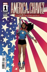 America Chavez Made In The USA #1 (of 5) Cover A Regular Sara Pichelli Cover