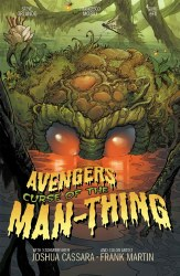 Avengers Curse Of The Man-Thing One Shot Cover B Variant Joshua Cassara Stormbreakers Cover