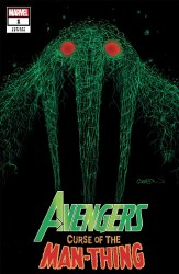 Avengers Curse Of The Man-Thing One Shot Cover D Variant Patrick Gleason Webhead Cover