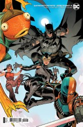 Batman Fortnite Zero Point #4 (Of 6) Cover B Variant Dan Mora Card Stock Cover