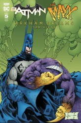 Batman The MAXX Arkham Dreams #5 (Of 5) Cover B Variant Sam Kieth Cover