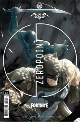 Batman Fortnite Zero Point #3 Cover C 2nd Printing Mikel Janin Recolored Variant Cover