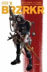 BRZRKR (Berzerker) #2 Cover A Regular Rafael Grampa Cover