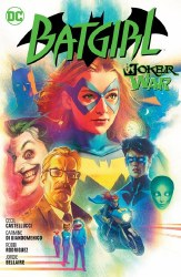 Batgirl Volume 8 The Joker War Hardcover Edition
